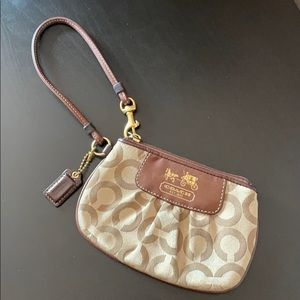 Coach women's mini clutch